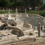 Roman ruins, Alexandria, Egypt