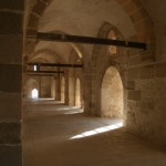 Inside Qaitbay Citadel, Alexandria, Egypt