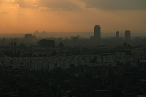 Cairo sunset, Egypt