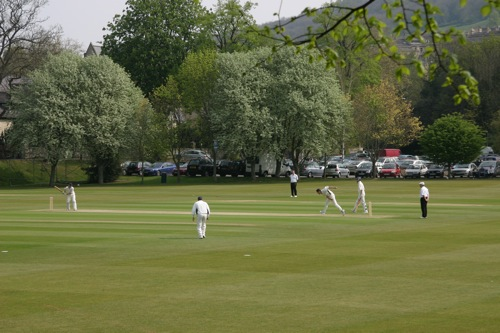 Cricket match, Bath, UK