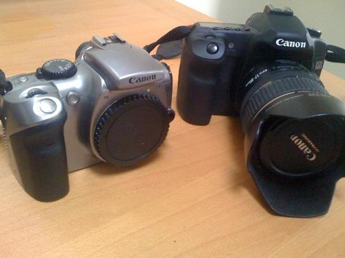 Canon EOS 300D vs EOS 50D