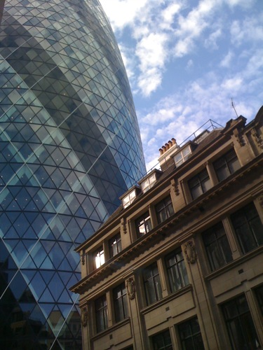 Swiss Re Building (Gherkin), London